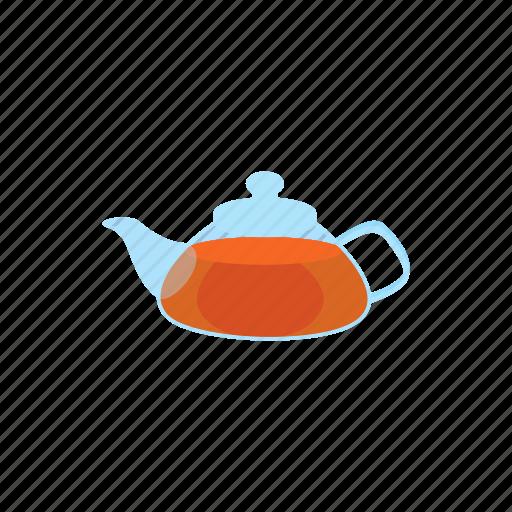 beverage, cartoon, drink, glass, tea, teapot, transparent icon