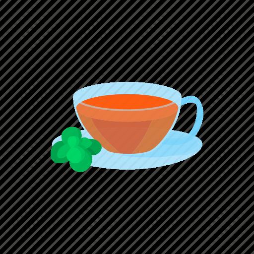 beverage, cartoon, cup, drink, glass, hot, tea icon