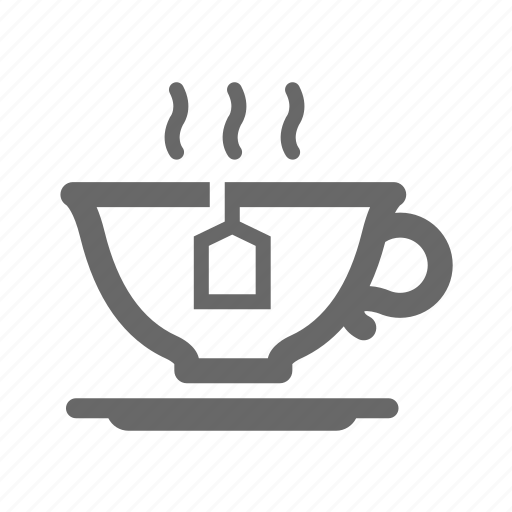 breakfast, cappuccino, coffee, cup, drink, espresso, tea icon