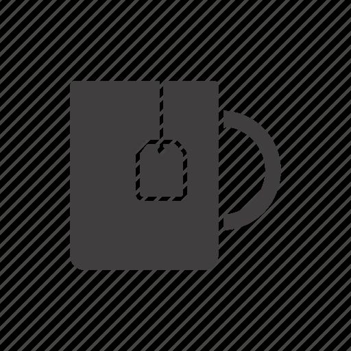 bag, cup, drink, hot, tea, teabag, teacup icon