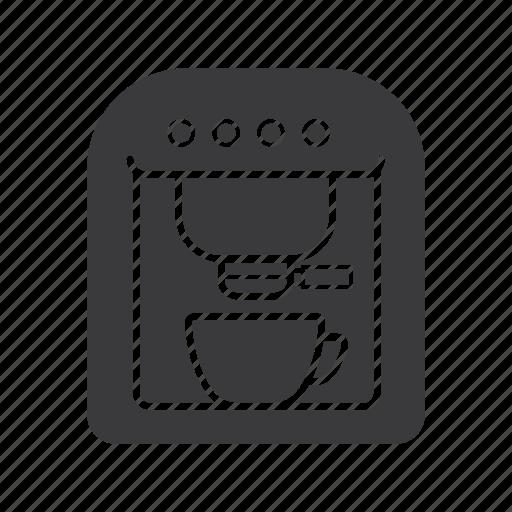 coffee, coffeemaker, extractor, make, percolator icon