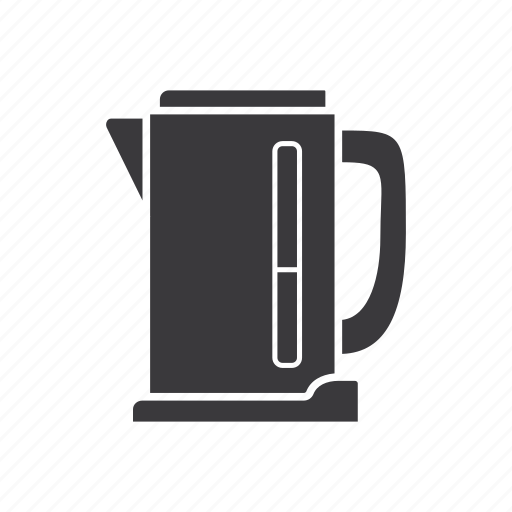 electric, kettle, pot, tea, teakettle, teapot icon
