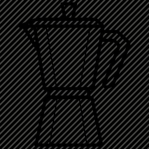 coffee, coffeemaker, extractor, maker, percolator icon