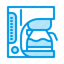 coffee, coffeemaker, equipment, machine icon