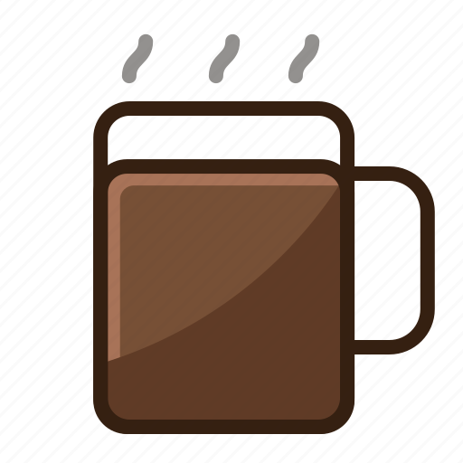 brown, cafe, coffee, glass, vintage icon