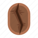 bean, brown, cafe, coffee, roasting, vintage icon