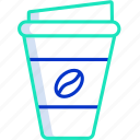 coffee, coffee1, cup, dessert, drink icon