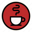 cafe, cafe sign, coffee, cup, drink, mug, sign icon