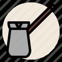 cafe, cezve, coffee, drink, hot drink, turkish, turkish coffee icon