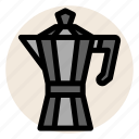 cafe, coffee, coffee maker, cup, drink, hot drink, mug icon