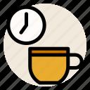 breakfast, coffee, cup, drink, morning, morning coffee, mug icon