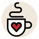 cafe, coffee, cup, drink, heart, love, mug