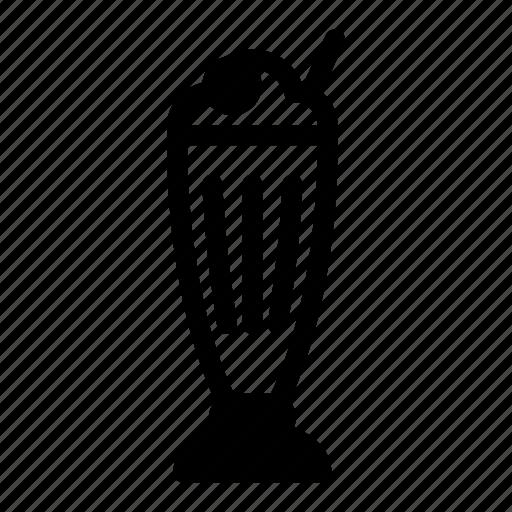 Cafe, coffee, cup, drink, icecream, milk, milkshake icon - Download on Iconfinder