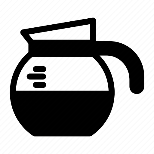 Cafe, coffee, coffee pot, drink, hot drink, pot icon - Download on Iconfinder