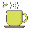 coffee, coffee cup, cup, hot coffee, hot drink icon