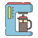 coffee, coffee machine, coffee maker, maker icon