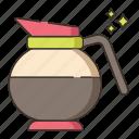 brewed coffee, coffee, coffee brew, coffee pot, pot icon