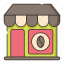 cafe, coffee, coffee shop, restaurant, shop icon