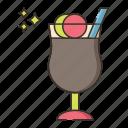 coffee, coffee with ice cream, ice cream coffee icon
