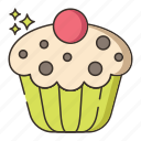 cupcake, dessert, food, muffin, pastry icon