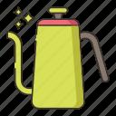 drip, drip kettle, kettle icon