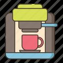 coffee, coffee machine, coffee maker, espresso icon