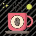 coffee, morning, morning coffee icon