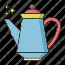 kettle, porcelain, porcelain teapot, pot, teapot