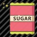 sugar, sugar pack icon