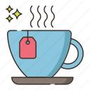 cup, hot tea, tea, tea cup icon