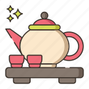 ceremony, tea, tea ceremony, tea pot, teapot icon