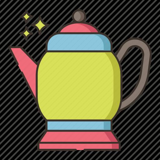 antique, coffee, coffee pot, pot, vintage, vintage pot icon