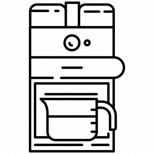 coffee, coffee machine, filter coffee icon
