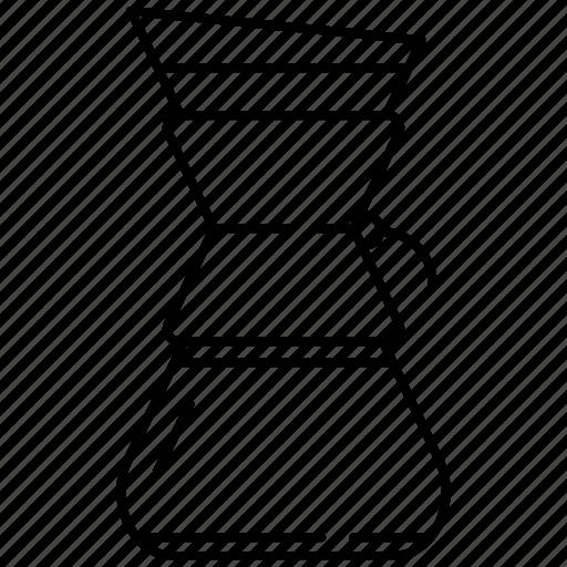 chemex, chemex kettle, coffee, kettle icon