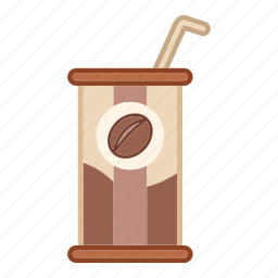 can, canned coffee, container, drink, food, tin icon