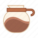 beverage, coffee pot, drink, kettle, mug, traditional icon