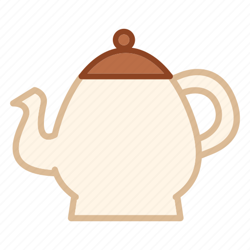 Coffee, drink, hot, kettle, pot, tea icon - Download on Iconfinder