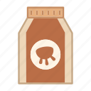 beverage, drink, food, healthy, ingredient, milk, product icon