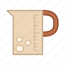 beverage, cold, drink, glass, jar, pitcher icon