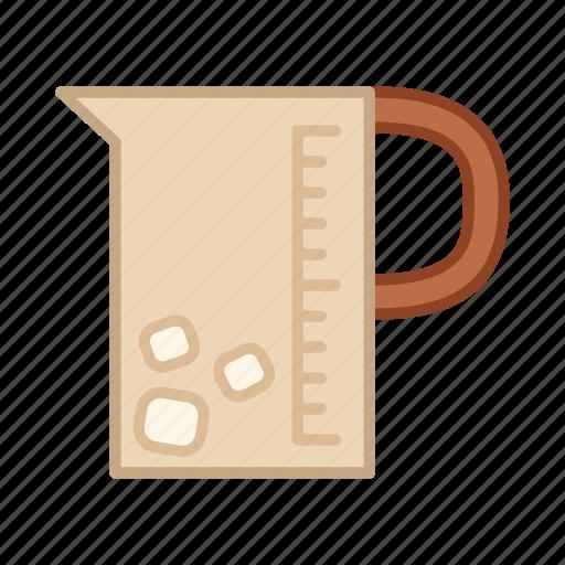 beverage, cold, drink, glass, jar, pitcher icon