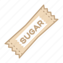 artificial, case, coffee, ingredient, sugar, sweetener icon