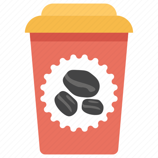 coffee container, coffee cup, disposable coffee cup, espresso, takeaway cappuccino, takeaway coffee icon