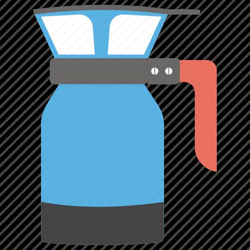 chemex, coffee, coffee machine, coffeemaker, ground coffee, pour over coffee icon