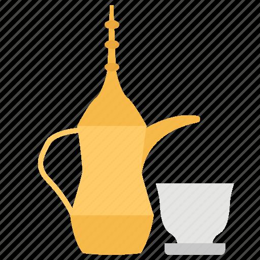arabian coffee, coffee, coffee shop, coffee time, refreshment time icon