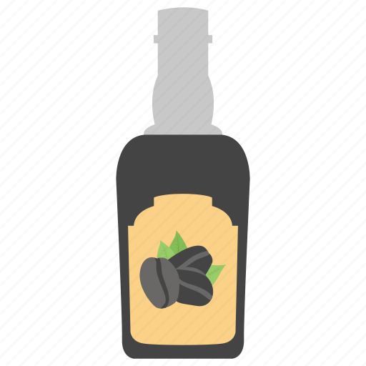 coffee bottle, coffee flavour, coffee liqueur, liquid coffee, liquid container icon