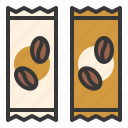 3 in 1 coffee, coffee, coffee supplies, instant coffee icon