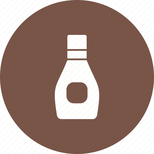 Brown, liquid, glass, food, healthy, bottle, syrup icon