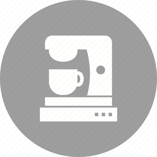 Coffee, cup, drink, mixer, machine, cafe, maker icon