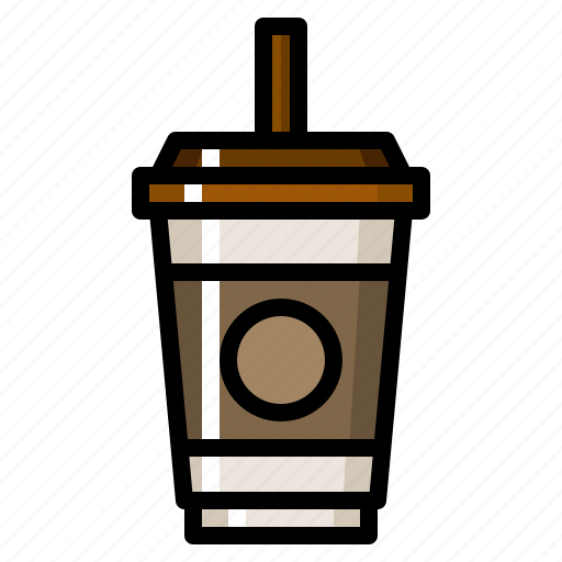Coffee, cold, cool, drink, take icon - Download on Iconfinder