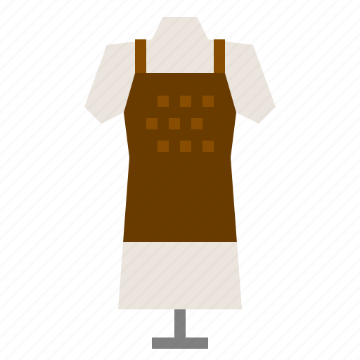 Apron, clothes, dress, housewife icon - Download on Iconfinder